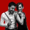 Marco e Laura. coltiviamo una passione irrefrenabile per il canto; ogni occasione è buona...